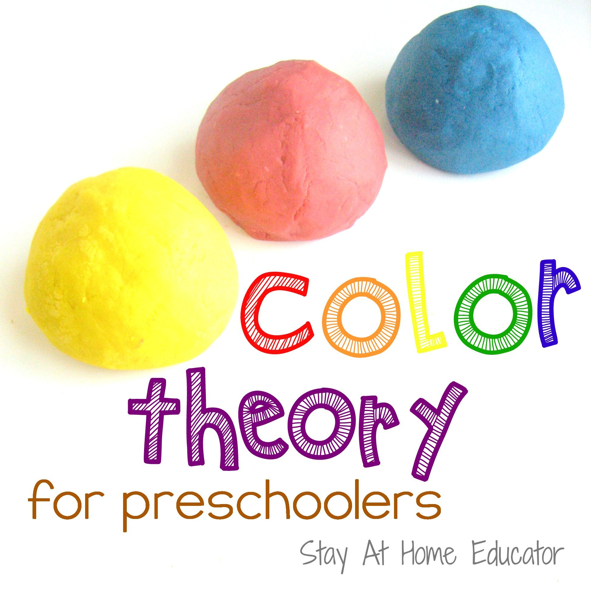 color theory for preschoolers part i - Colour Activities For Preschoolers