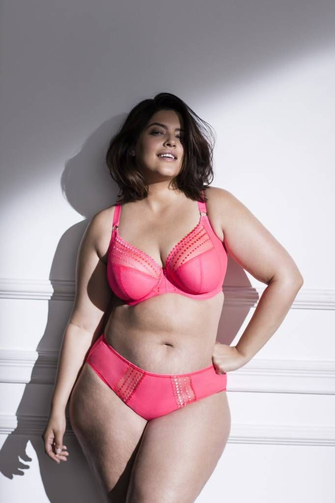 abc4b797bc The Matilda by Elomi is the perfect bra for curvy women is is especially  designed for full-busted and full figures. This plunge underwire bra  features ...
