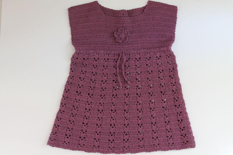 Kleid in Farbe Heidekraut von arteve auf DaWanda.com