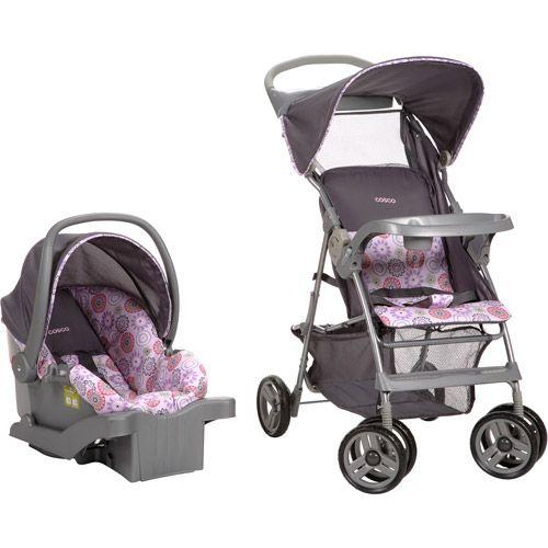 Cosco Quot Margo Quot Grey Seat Grey Stroller Amp Purple Grey