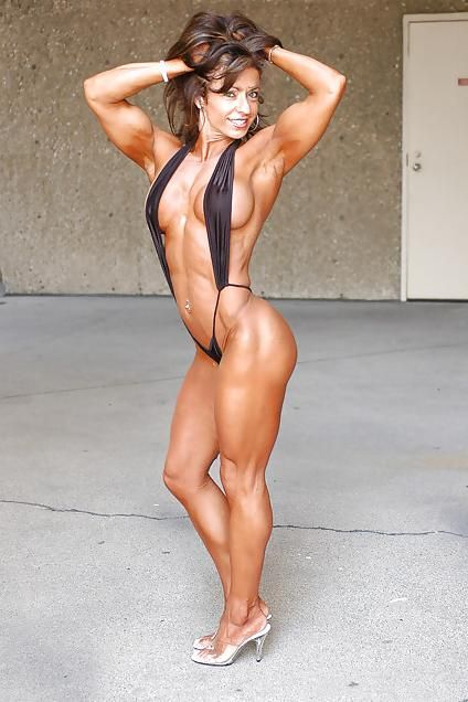 Erotic toned female bodies picture