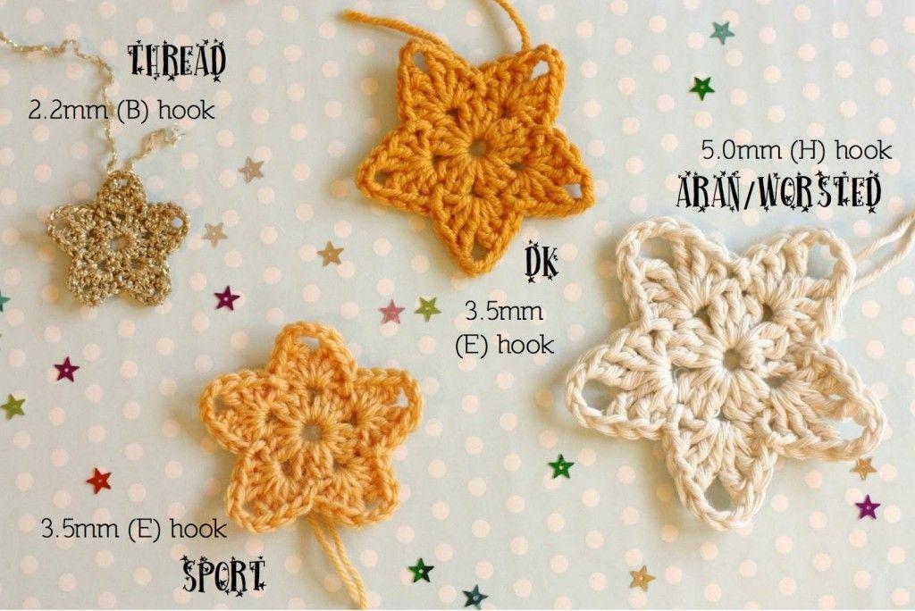 5 ornements à crocheter pour Noël - Plumetis Magazine