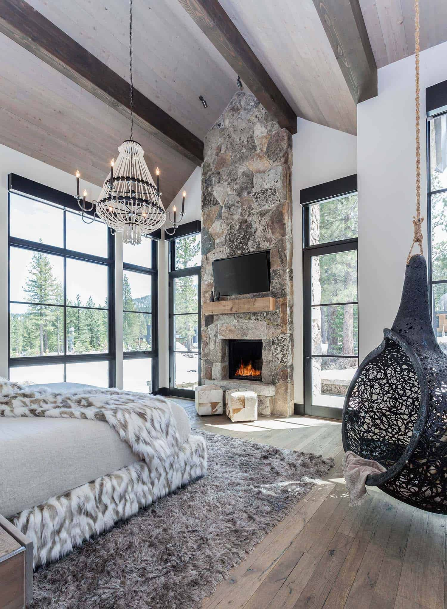cozy mountain retreat with scandinavian vibe on beautiful on modern cozy mountain home design ideas id=63045
