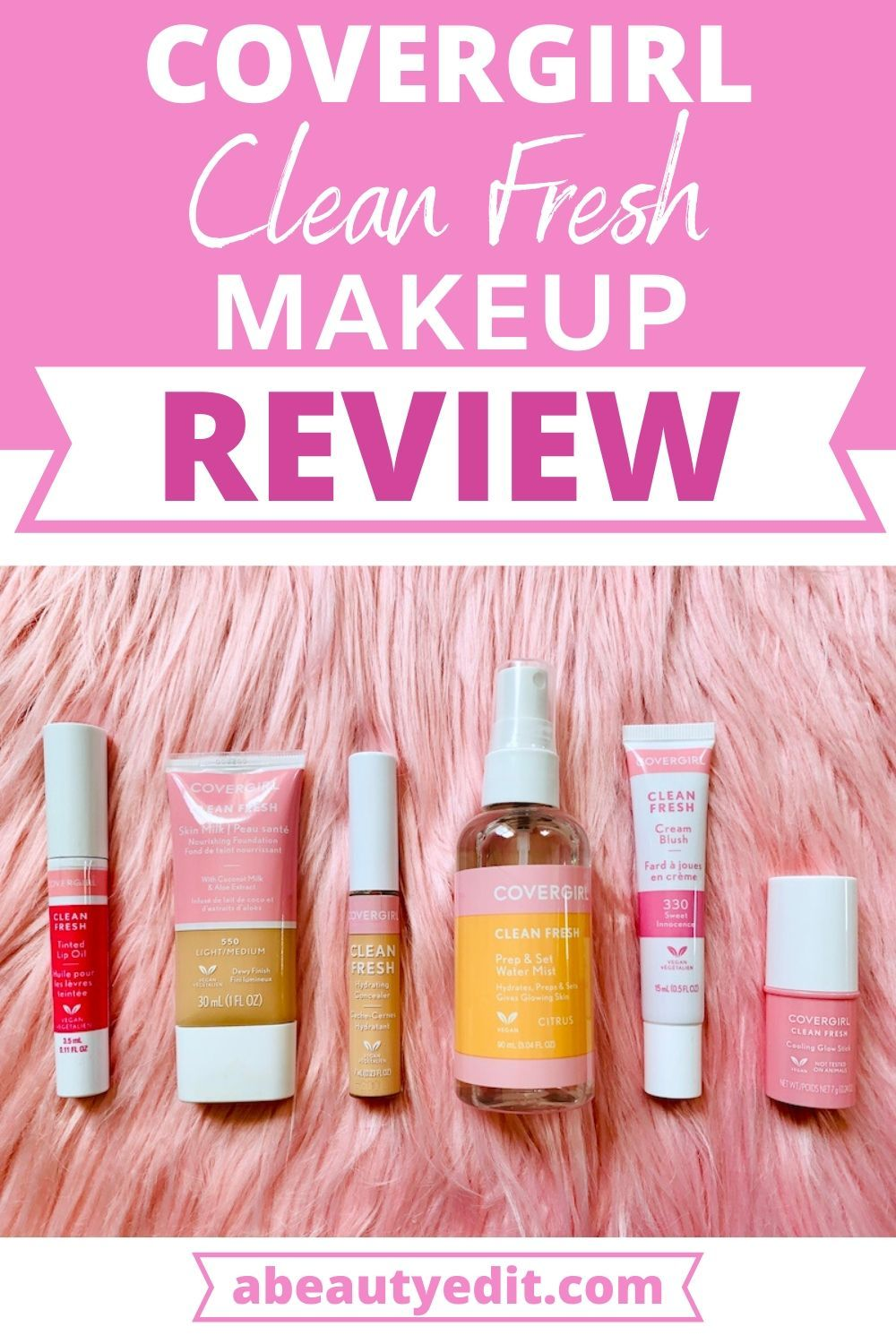 CoverGirl Clean Fresh Makeup Review A Beauty Edit in