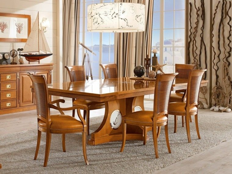 Mesas comedor ideas de madera elegancia y estabilidad | Home decor ...