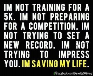 Love it - the best reason to exercise