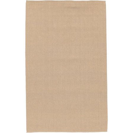 Art of Knot Seldovia 2'6 inch x 4' Fawn Rug, Brown
