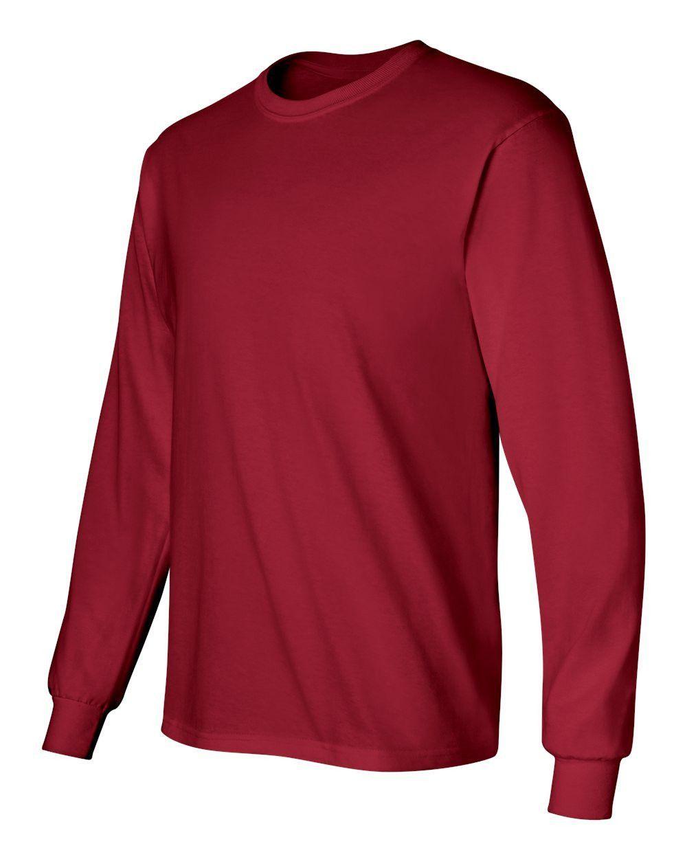 Gildan - Ultra Cotton Long Sleeve T-Shirt - 2400