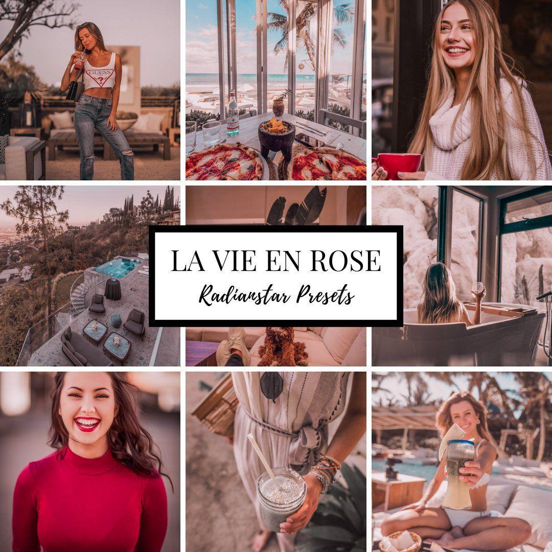 Mobile Lightroom preset LA VIE ROSE Blogger Lifestyle