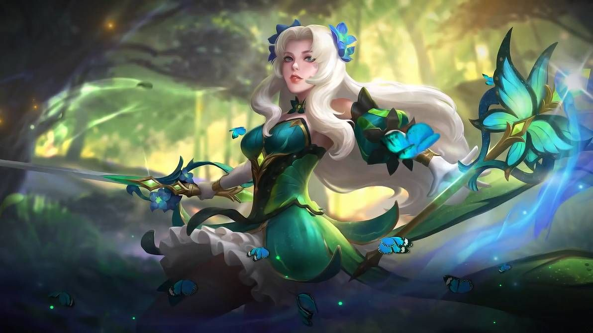 Odette Butterfly Goddess By Makinig (With Images)