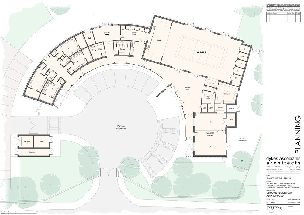 community center floor plan design Google Search