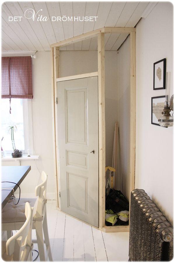 Image result for platsbyggt hörnskafferi Skafferi Pinterest - küchenfronten selber bauen