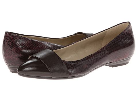 Brown · Naturalizer Patricia Brown Printed Snake/Oxford Brown Smooth ...
