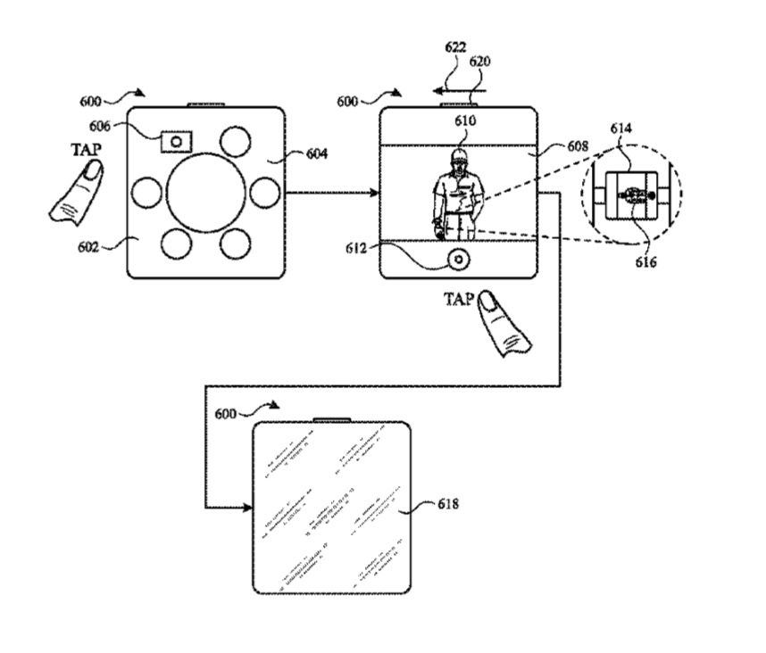 Apple patent is for a remote camera user interface for