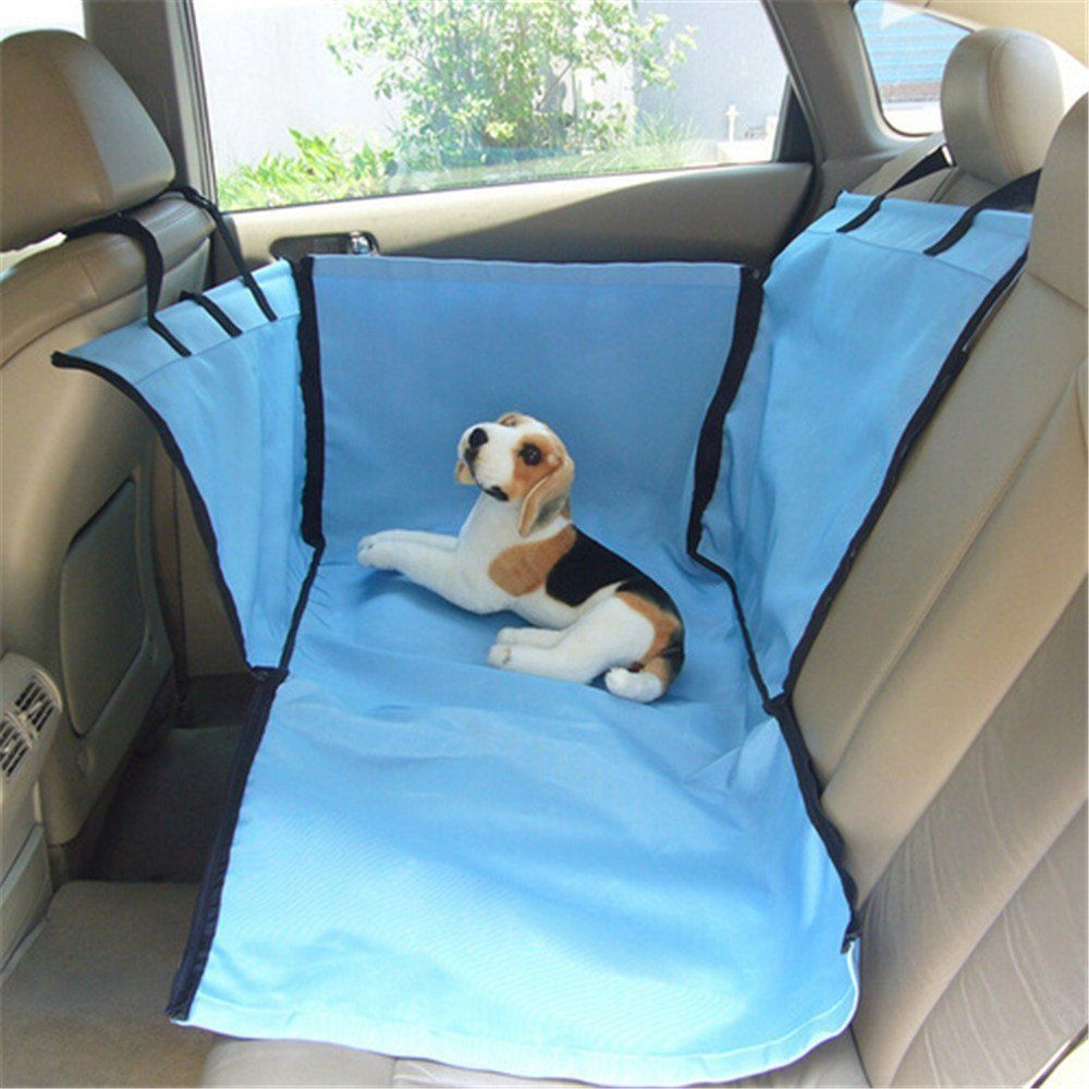 High Quality Waterproof Dog Back Car Seat Cover Washable Pet Carriers Protector Mat Hammock Carpet Mat Blanket For Cat Pet Pet Products