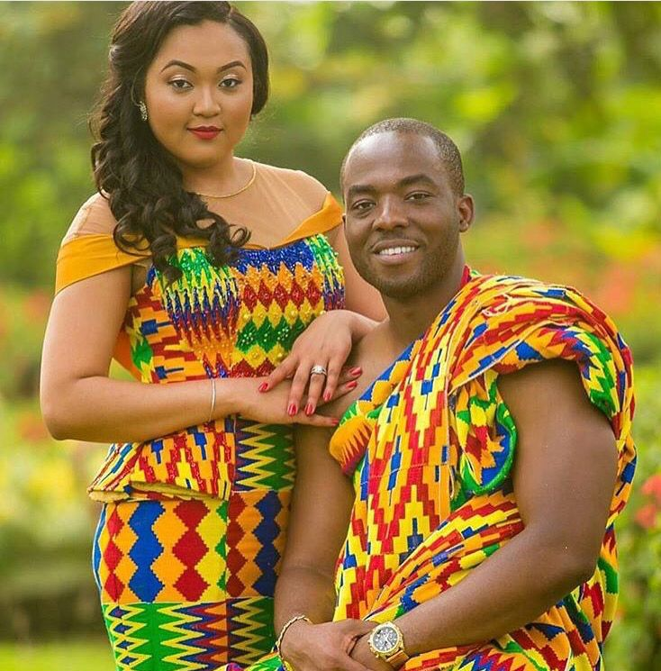 Kente, African wedding