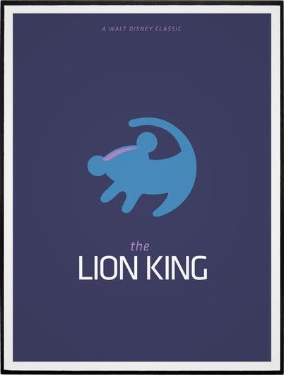 THE LION KING » Minimalista