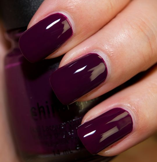 Deep Wine Nail Polish: China Glaze Metro (Uptown) Collection Review, Photos