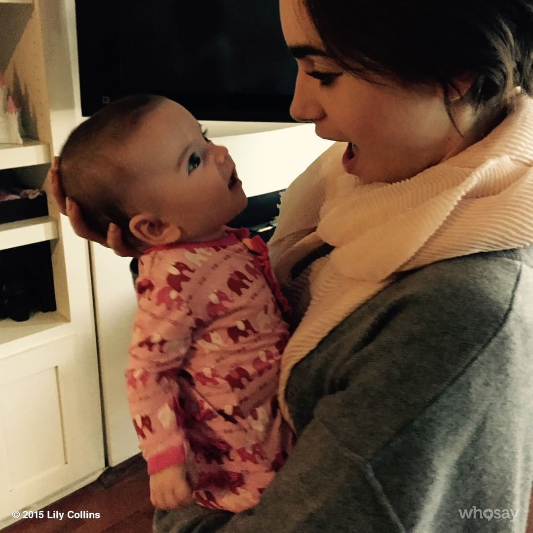 """Seeing life through this little one's eyes makes my day. @Jaimefeld and @Kevinzegers1984 's baby Zoë is one half of the most beautiful twins I've ever…"""