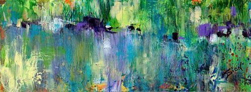 The Pond - Original Fine Art for Sale - © by Sue Dion