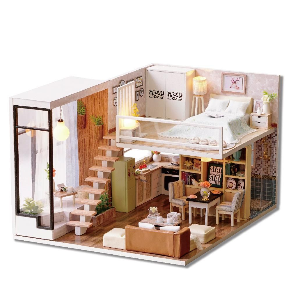 DIY Dollhouse - Waiting For The Time | Diy dollhouse, Campaign and ...