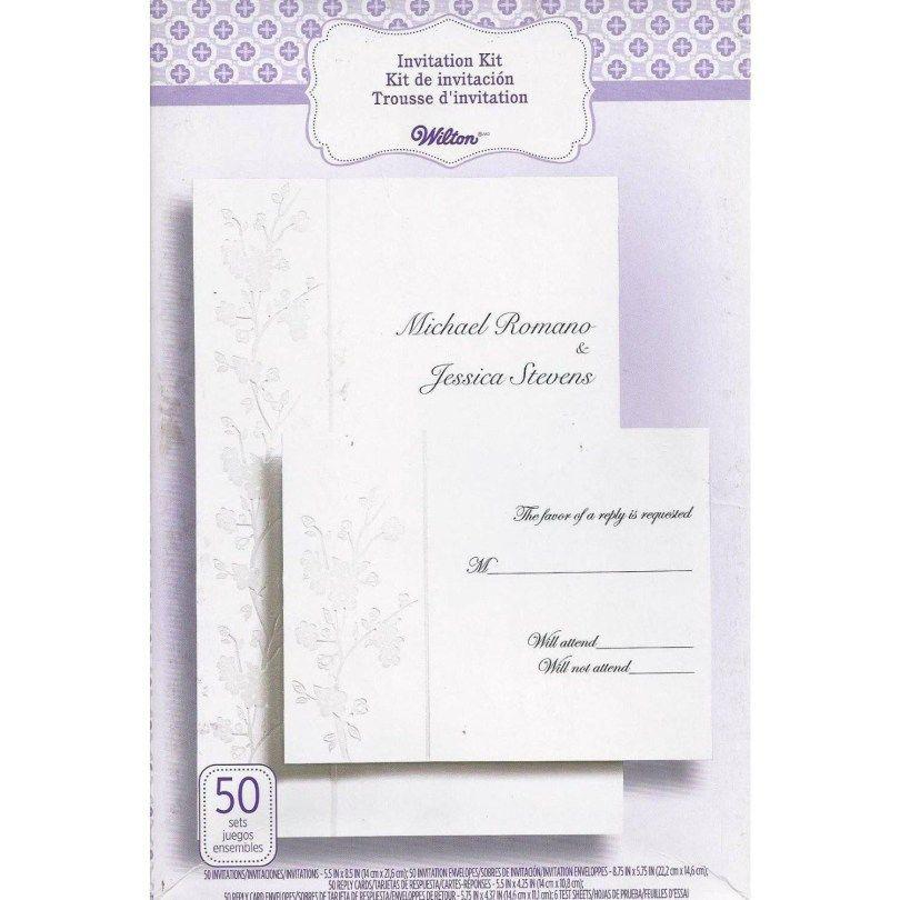Invitation Kits Wedding Invitation Kits Wedding Invitation Shop