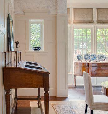 American #Tudor - #traditional - #diningroom - #dcmetro #interior #diniing #windows - Donald Lococo Architects