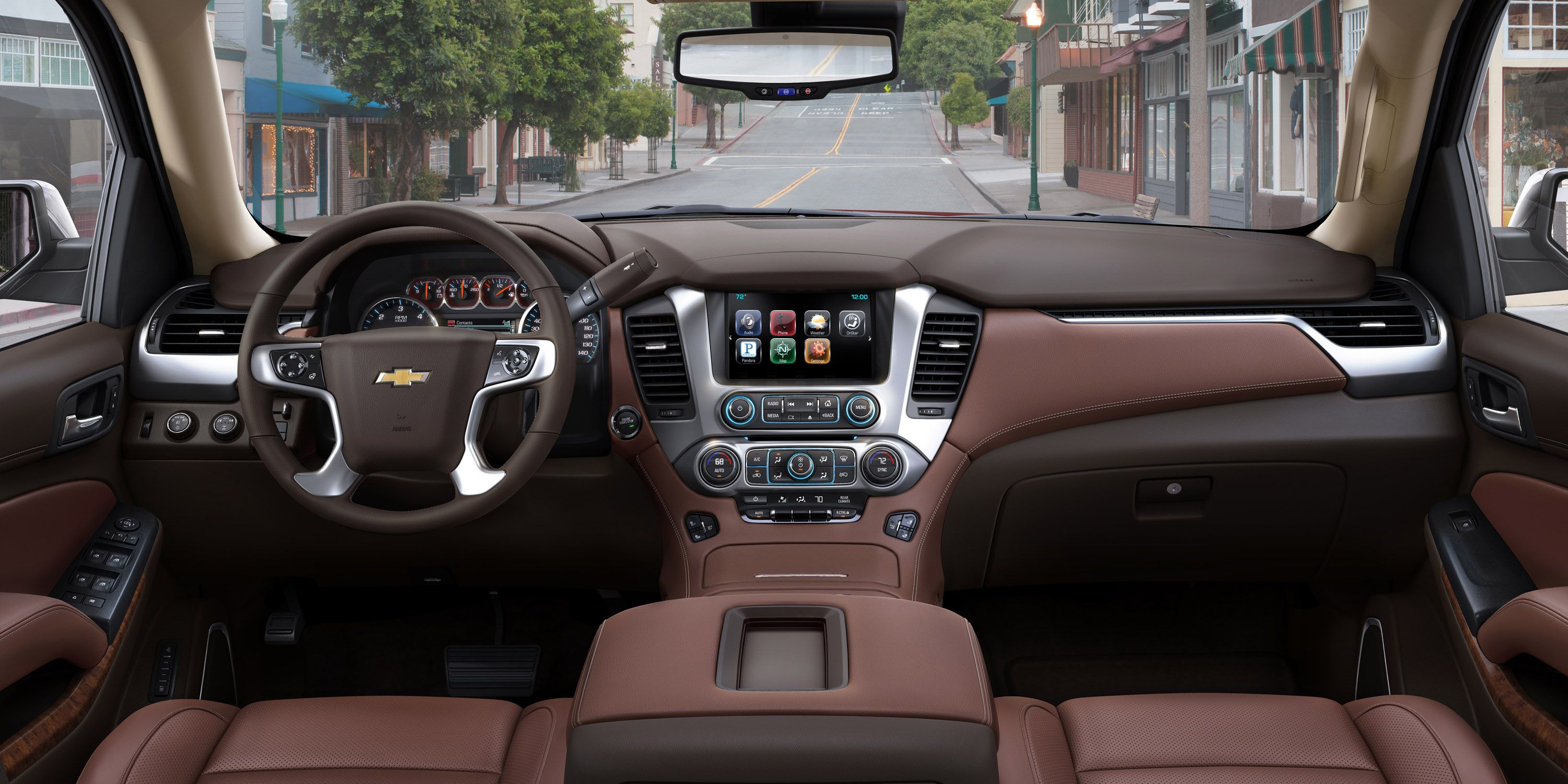 2015 Chevrolet Tahoe Interior | Interior Design | Chevy ...
