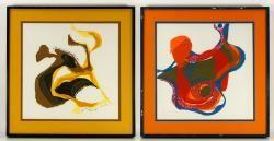 LONG, 2 prints 20th C. Modern Design and Fine Art Auction | Official Kaminski Auctions