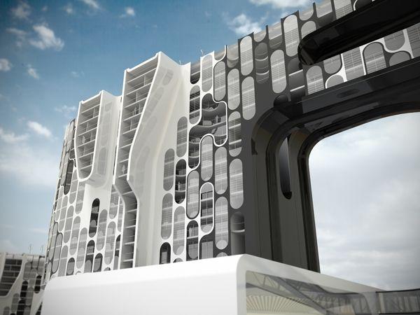 New Seifullin Center // Almaty // Kazakhstan // Neil M. Denari Architects