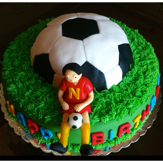 Soccer birthday cake sweetboard Pinterest Soccer birthday