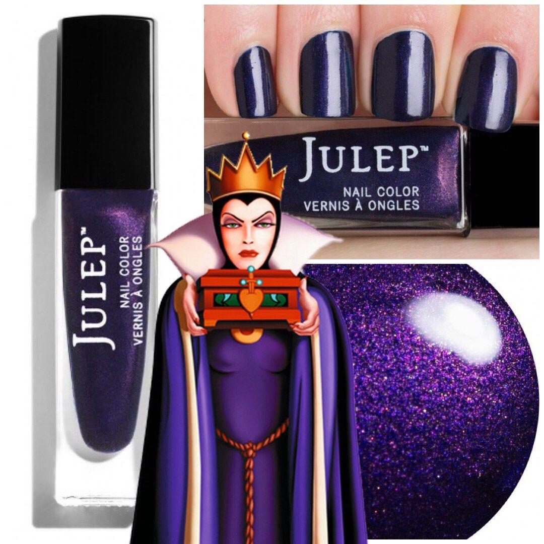 Nail polish for your inner villain makeup pinterest disney