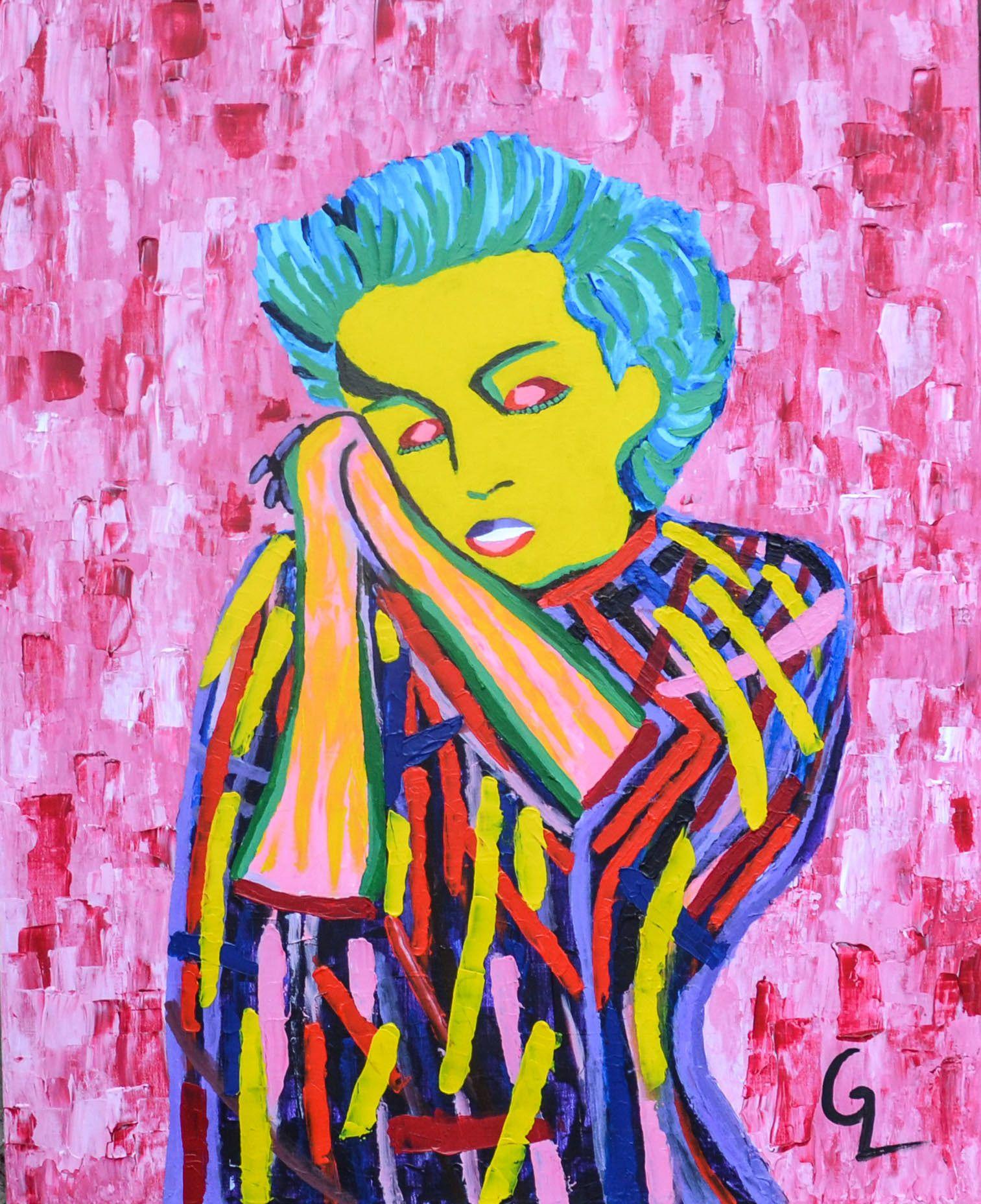 Ознакомьтесь с моим проектом Behance «Marilyn Monroe