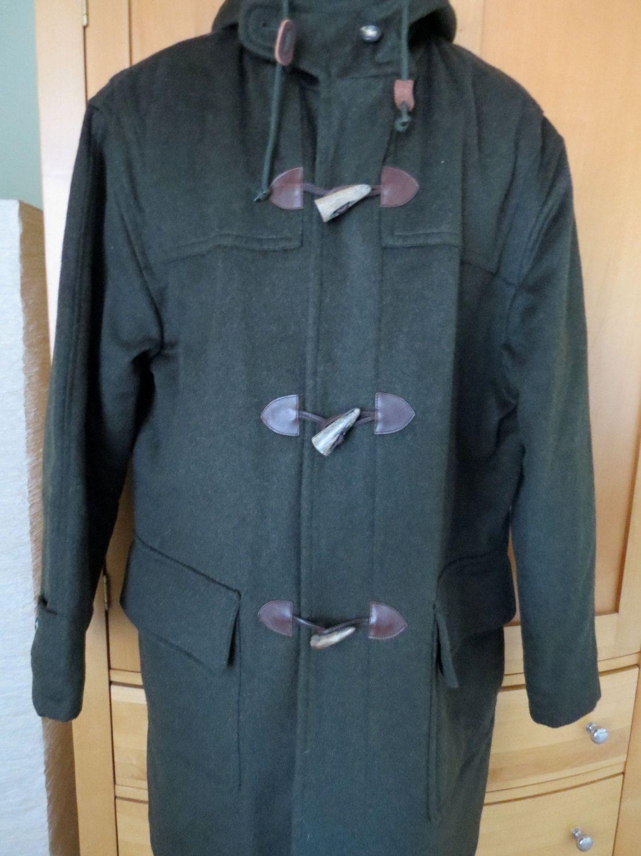 5e86695bb4c3 Vtg Wool Duffle Toggle Coat. Original Tiroler Loden Pischl Cloth ...