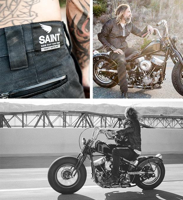 Saint | Ballistic Motorcycle Drills made from 100% DuPont™ Black Kevlar®