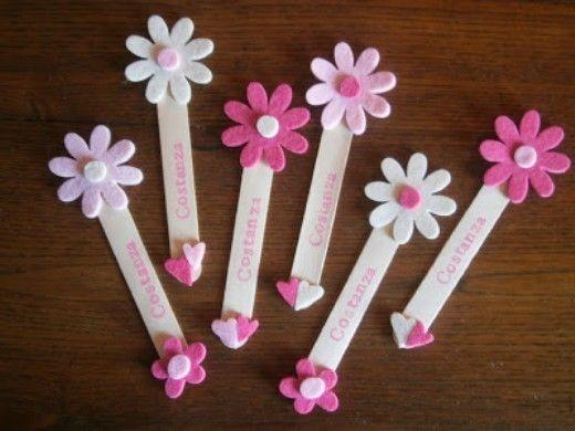 Segnalibri fai da te segnaposti con stecchette di gelato for Lavoretti con abbassalingua