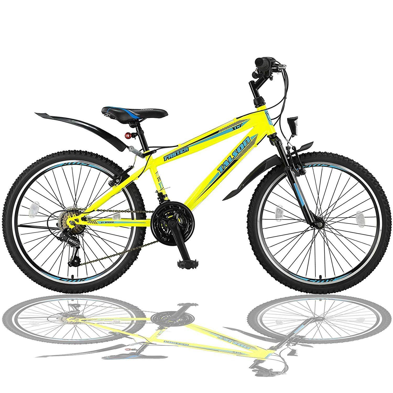 Talson 24 Zoll Mountainbike Fahrrad Mit Gabelfederung