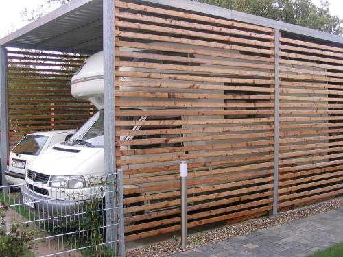 carport selbst bauen wohnmobil wohnwagenform. Black Bedroom Furniture Sets. Home Design Ideas
