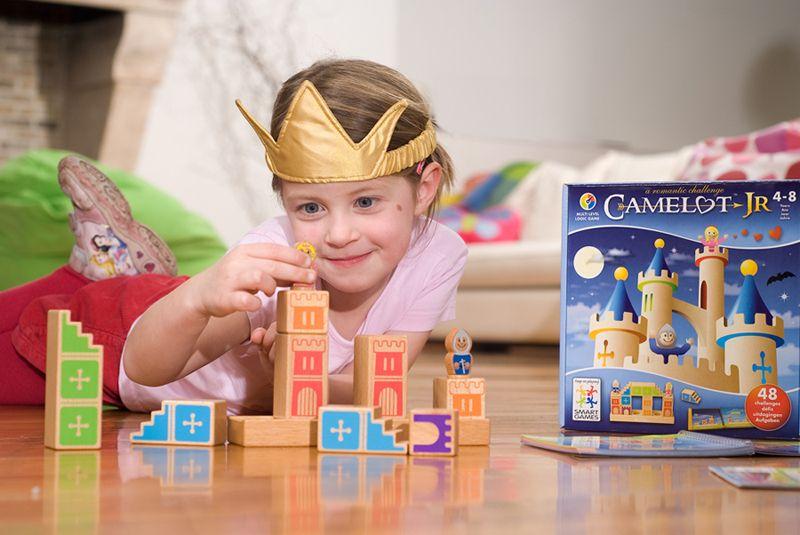 SmartGames Camelot Jr - Leikkien.fi - Opettavainen lelukauppa