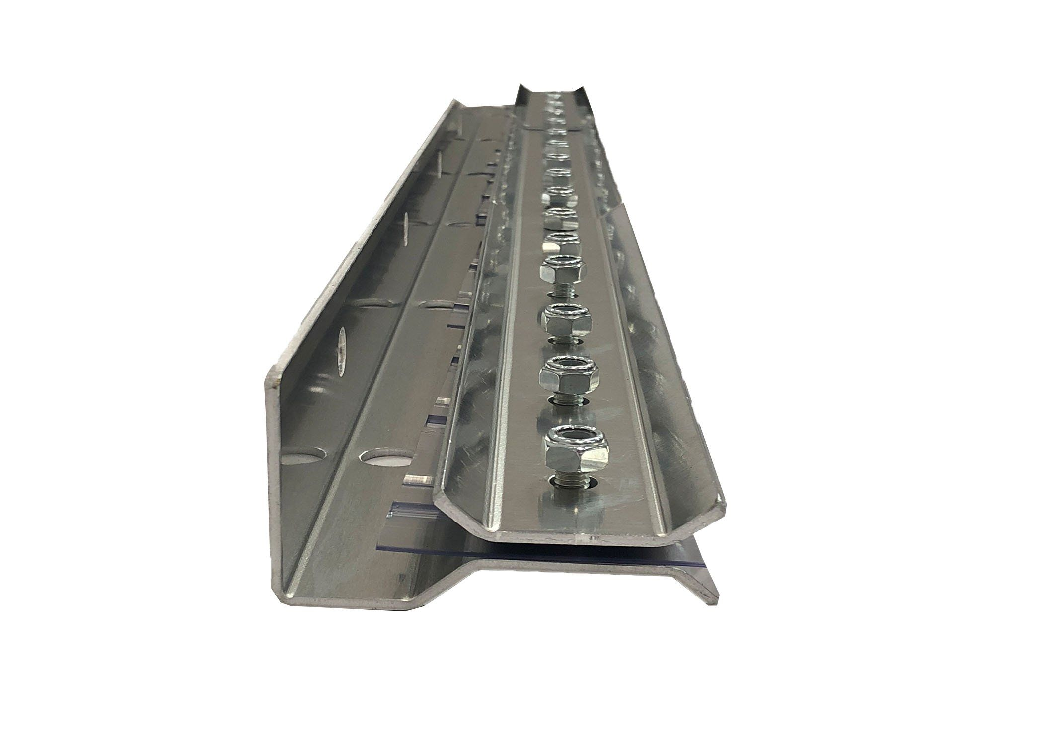 Resilia Universal Industrial Mounting Hardware For Strip Curtain