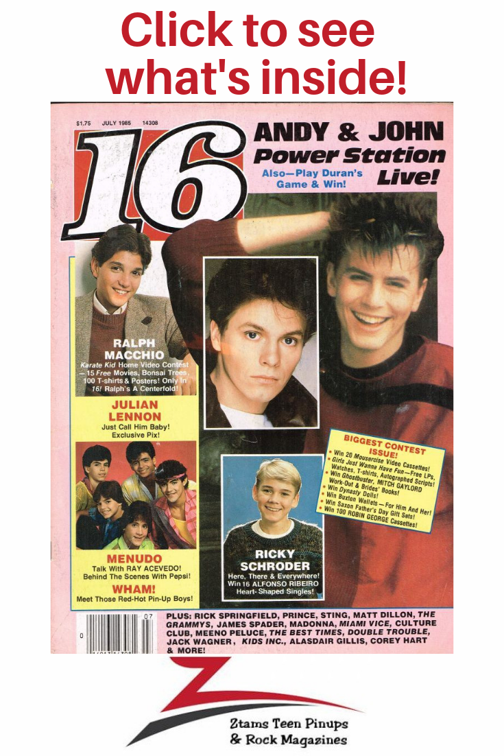 Magazines revisit childhood Pin Teen on to your 80
