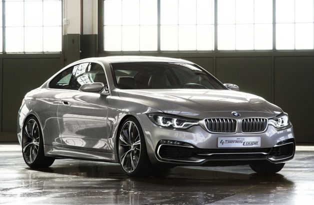 Bmw Concept 4 Series Coupe Looks Like It Will Bite Your Hand Off