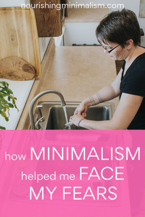 Minimalism Can Help You Conquer Your Fears In 2020 Minimalist