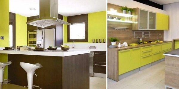 Cocina verde pistacho | Ideas cocina | Pinterest | Cocina verde ...