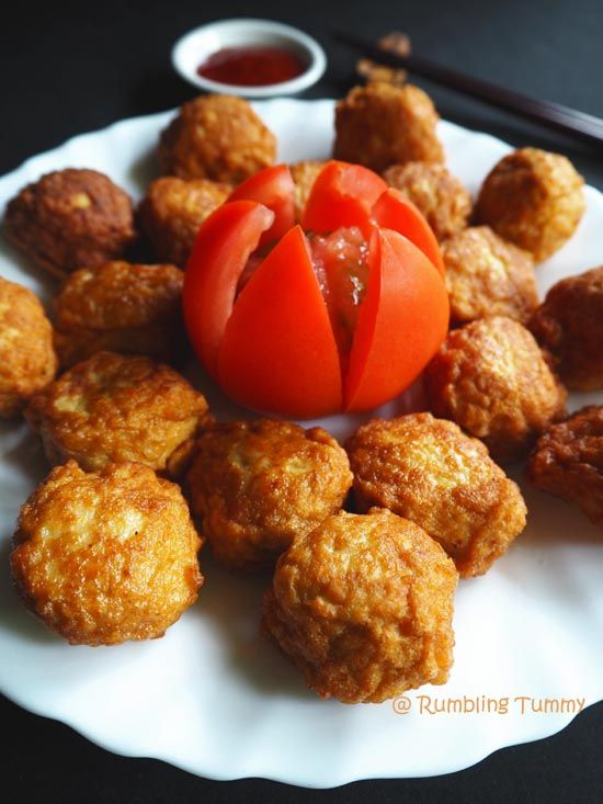 Rumbling Tummy: Tofu Meatball