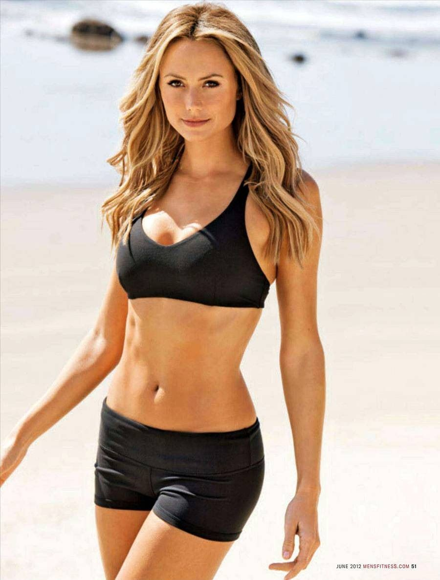 My New Goal Mens Fitness Magazine Fitness Magazine Stacy Keibler