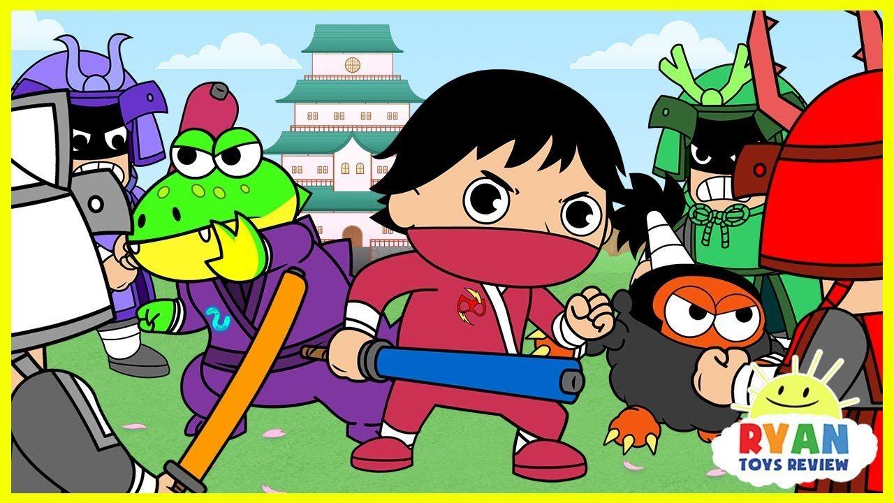 Ryan Ninja Kids Spy Mission Cartoon Animation For Children With Ryan Bupishow Bupivlog Bupiofficial Ryan Toysreview Animated Cartoons Funny Cartoons