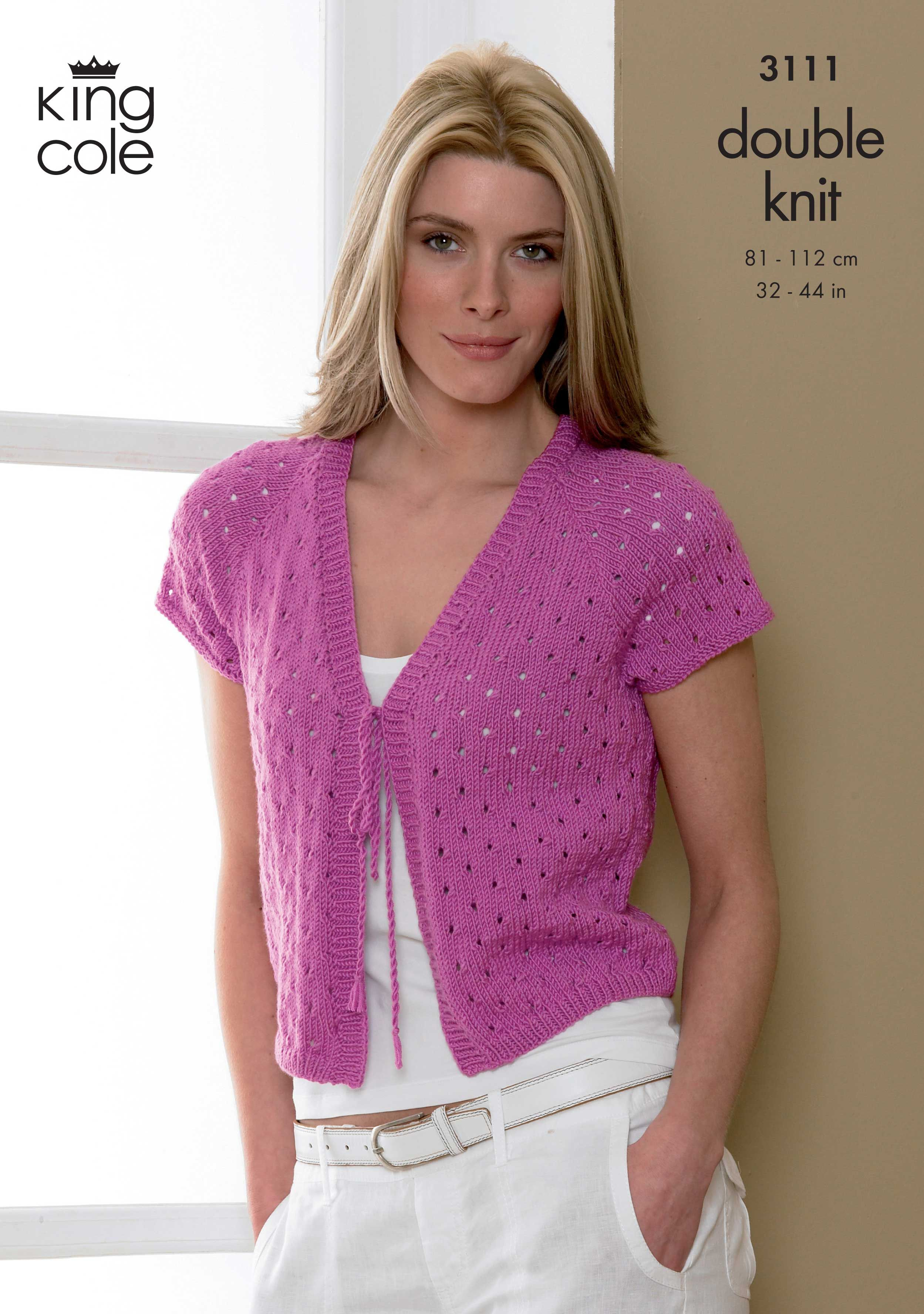 Tie fronted cropped cardigan - King Cole   Summer Cover ups   Pinterest