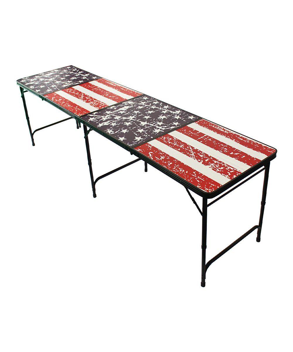 American Flag Portable Beer Pong Table Set  sc 1 st  Pinterest & American Flag Portable Beer Pong Table Set   Military \u0026 \u0027Merica ...