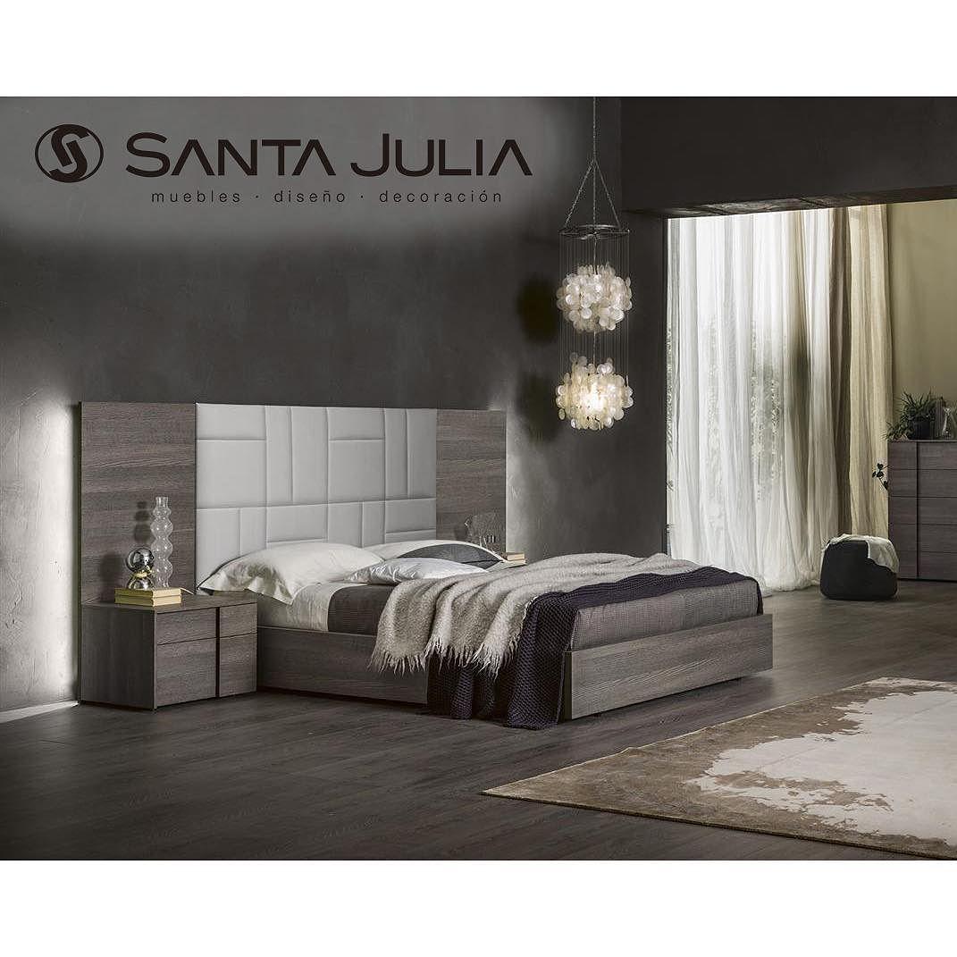Cama Gaia| hermosa cama en madera roble de poro abierto cabecero ...